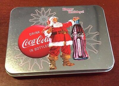 Coca-Cola Happy Holiday Playing Cards Sealed Limited Edition Keepsake Tin