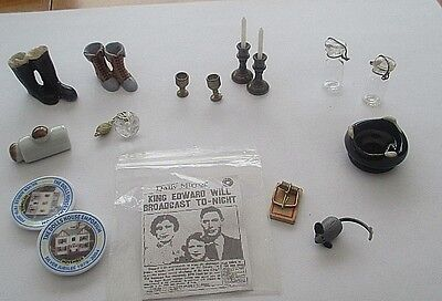 Unusual Dolls House Accessories.-Kilner Jars, Mousetrap, Perfume Spray Etc