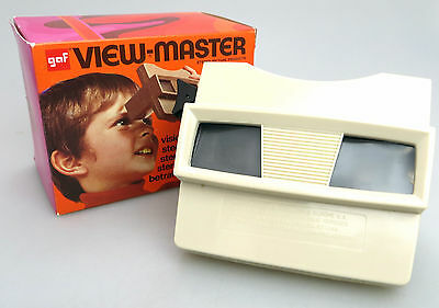 GAF SAWYERS View Master 3D Stereo Stereobetrachter Viewer + OVP bo095