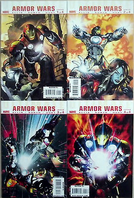 ULTIMATE ARMOR WARS 1,2,3,4 (1-4)...NM-...2009...Warren Ellis...Bargain!