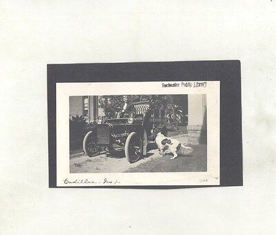 1908 Cadillac ORIGINAL Photograph ww7739