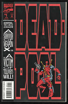 Deadpool: The Circle Chase NM+ 9.6 W Pages 1st Slayback 1993 Mini Series