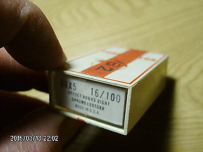 182 pc TORRINGTON sewing machine needles system 88x5 Nm 100 size 16