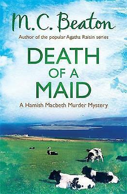 Death of a Maid by M. C. Beaton, Book, New (Paperback)