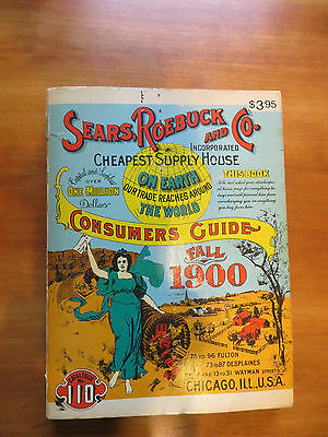 Vintage 1970 Sears Roebuck and Co. Fall 1900 Consumer's Guide