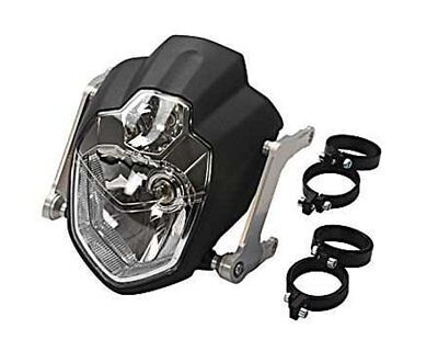 Headlights Kit Urban H4 lamps and 31mm holder for the fork. motorcycle