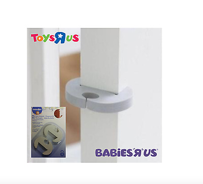 Babies R Us Home Safety Door Stoppers No More Jammed Little Fingers 2 or 4 Pk