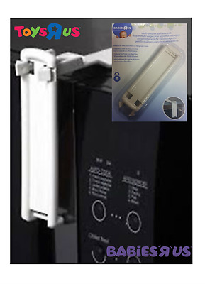 Babies R Us Home Safety Appliance Lock Multi Purpose No More Opening The Fridge