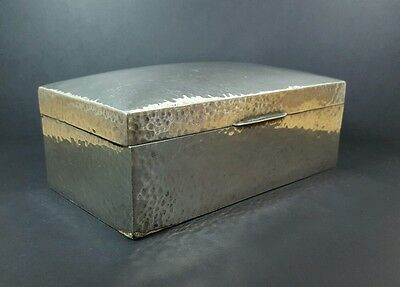 Liberty & Co Arts & Crafts Archibald Knox Tudric Solkets Pewter Box #01021 c1900