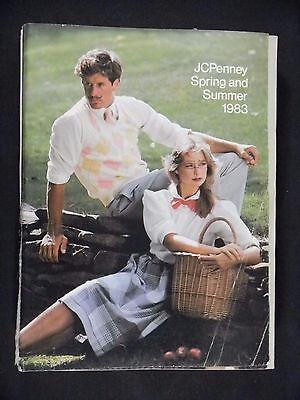JCPenney 1983 Spring Summer CATALOG 1334 pgs. Fashion HOME Electronics ETC. vtg