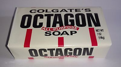 Vintage Colgate's Octagon All-Purpose Soap | 7oz/198g | New in Wrapper