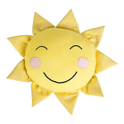 Yellow Sun Cushion You Are My Sunshine Polka Dot Toy Kids Childrens Bedroom Gift
