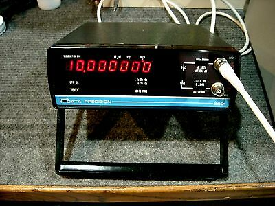 Data Precision Model 5801 520 MHz Frequency Counter with manual - working