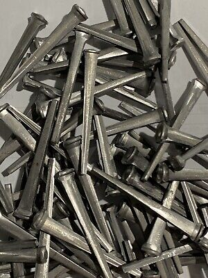 """New Tremont Antique RePro. Steel Common Rosehead  2"""" Cut Nails 1 Pound"""