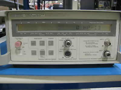 Agilent 5347A 20GHz Microwave Counter / Power Meter- 90 Day Warranty