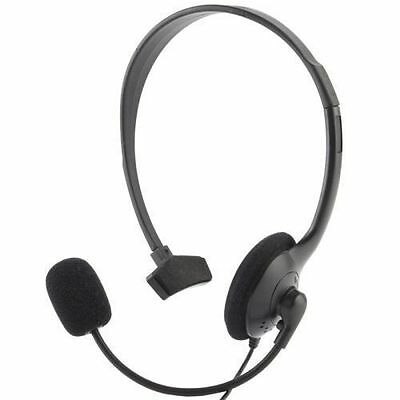 Cuffia Headset Microfono Mono Per Sony Playstation 4 Ps4 Chat Network Gaming Hsb