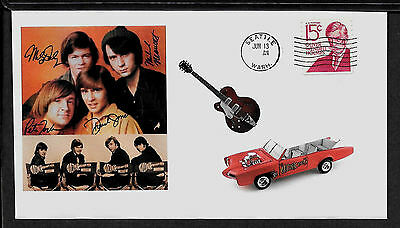1960's Monkees / Davy Jones Featured on Collector's Envelope A631