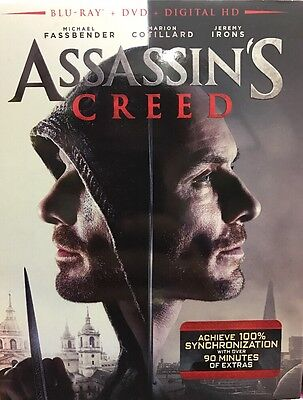 Assassin's Creed Blu-ray DVD Digital Brand NEW Available NOW! Ships TODAY!