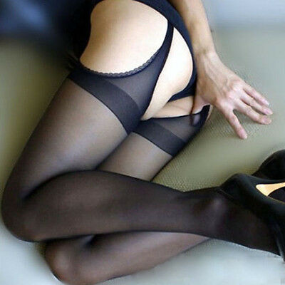 Fashion tights Sexy stockings Four open crotch stockings off pantyhose for Women