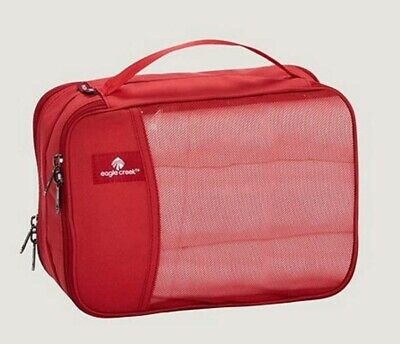 Eagle Creek Pack-It Clean Dirty Half Travel Cube - Red Fire