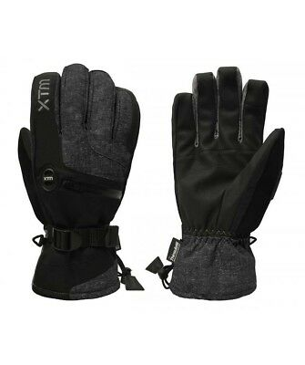 Xtm Samurai Mens Waterproof Gloves -Blk Marle