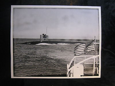 Vintage US Navy 8 x 10 Press Photo USS USS Dace SSN-607 1965 New London, CT 035