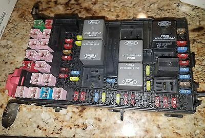 06 FORD F250 F350 Super Duty Interior UNDER DASH Fuse Relay BOX 6C3T-14A067-BB