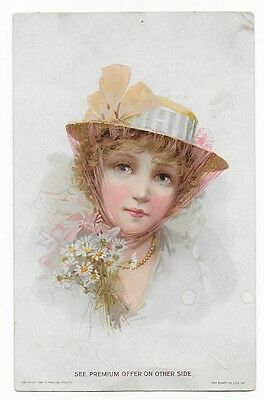 1894 Lion Coffee, Woolson Spice Co., Victorian Trade Card