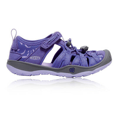 Keen Moxie Junior Purple Outdoors Camping Walking Summer Shoes Sandals
