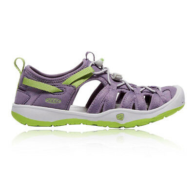 Keen Moxie Junior Green Purple Outdoors Walking Hiking Sandals Summer Shoes
