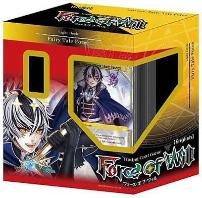 Force of Will Lapis Cluster Starter Deck Light Deck: Fairy Tale Force, English
