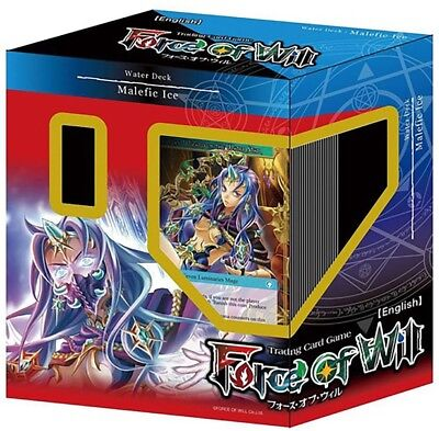 Force of Will Lapis Cluster Starter Deck Water Deck: Malefic Ice, English