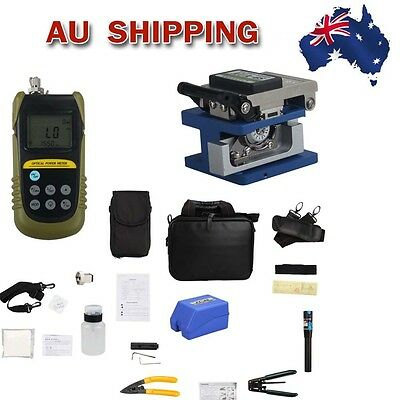 From AU TLD6070 AUA-6S Optical Fiber Cleaver Fiber Optic FTTH Tool Kits