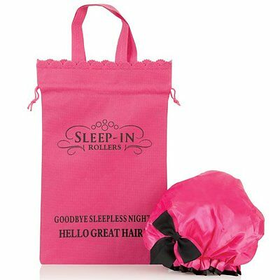 Sleep-In Shower Cap Rulli personalizzati