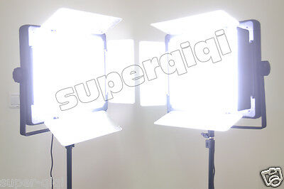 2014 Upgrade 2Pcs1080 1000 LED Video Photo Studio Lighting Dimmable Color Light