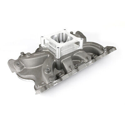 """fits Ford 302 351C Cleveland (4V With Tongues) Torque Intake Manifold w/2"""""""