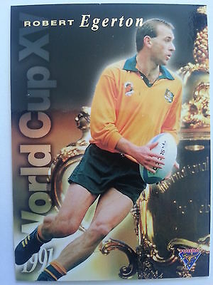 1995 Futera Rugby Union 1991 World Cup XV WC14 Robert Egerton