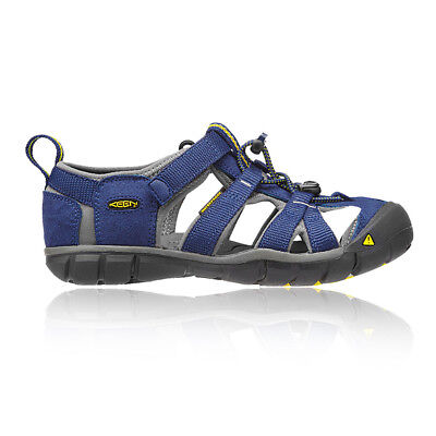 Keen Seacamp II CNX Junior Blue Walking Hiking Sandals Summer Shoes