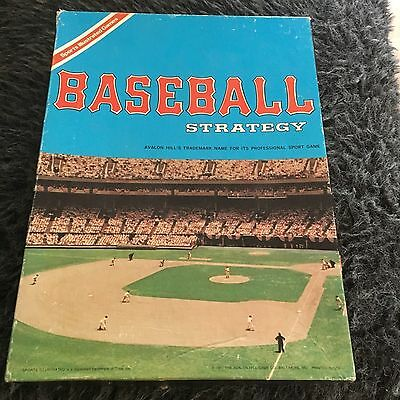 Sport Illustrated. Baseball Strategy, Avalon Hill's Trademark. 1973