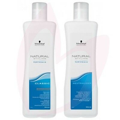 Schwarzkopf Natural Styling Hydrowave Classic Perm Lotion&Netraliser-0 Resistant