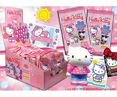 24 Stk. Giftbag Hello Kitty Figuren + Sticker