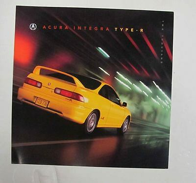 2000 Acura Integra Type R U.S. Brochure mx9401