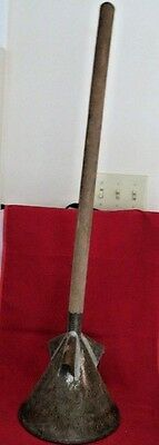 Antique clothes washing tool/wood handle/shows wear