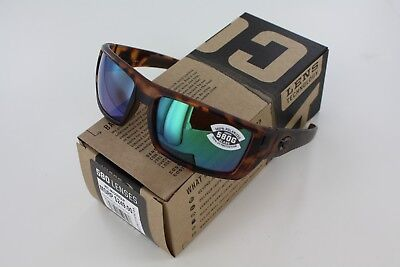 42fcda773ee Costa Del Mar Rafael Matte Retro Tortoise Green Mirror 580G Genuine  Sunglasses