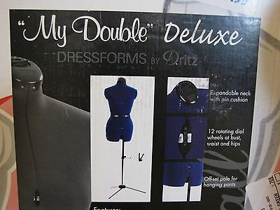 """Dritz """"My Double Deluxe"""" Dress form Size Small New in Box"""