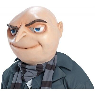 Gru Mask Costume Mask Adult Despicable Me Halloween