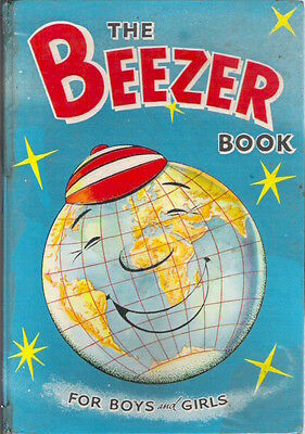 THE BEEZER BOOK ANNUAL 1961 D C Thompson Classic Collectable Childrens' Complete
