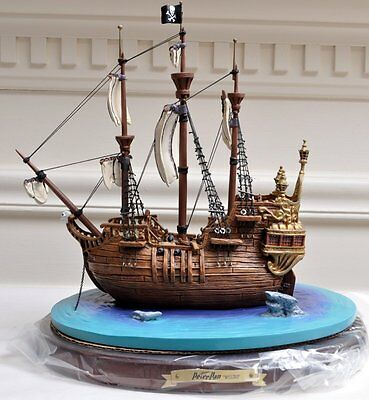 WDCC The Jolly Roger from Peter Pan Captain Hook's Ship 2231/10000 OB COA (MD)