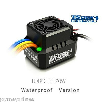 Spare Part SKYRC TS120W IP67 Waterproof Brushless ESC for RC Car Toys