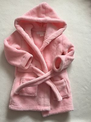 Baby Girls Clothes 6-9 / 9-12 Months - Fleece Robe  Dressing Gown